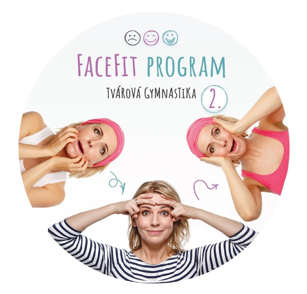 DVD faceFit program s názornou inštruktážou a príkladmi skladby cvičení